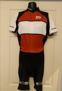 Voler Raglan Torino Full Zip Cycling Skin Suit